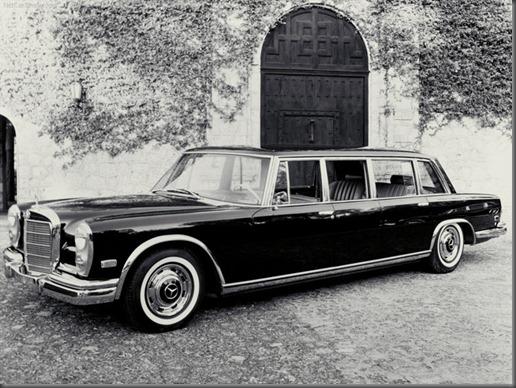 mercedes benz 600 pullman limousine 1964 wallpaper 03