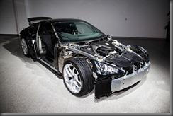 Lexus LFA features 65% carbon fibre chassis