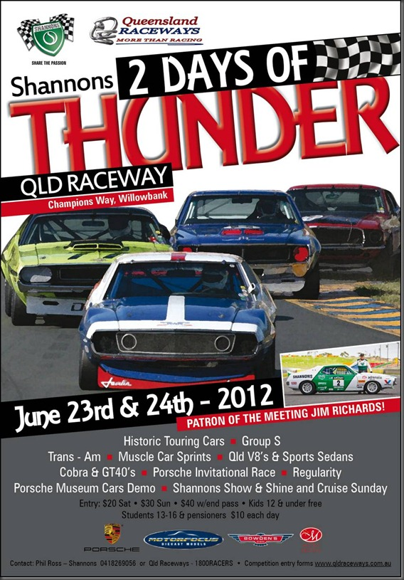 Shannons 2 Days of Thunder in Qld | Gay Car Boys