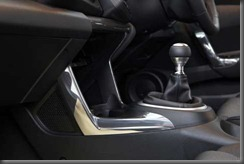 Honda CR-Z luxury centre console