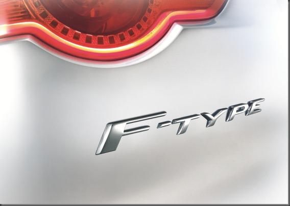 Jaguar F type tail light