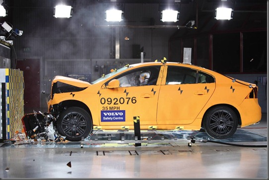 Volvo s60 crash test