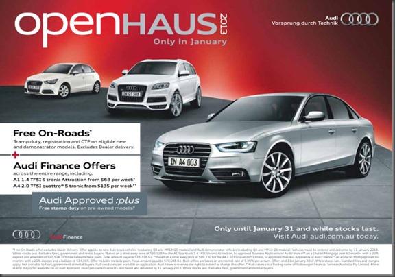 Audi Open Haus 2013