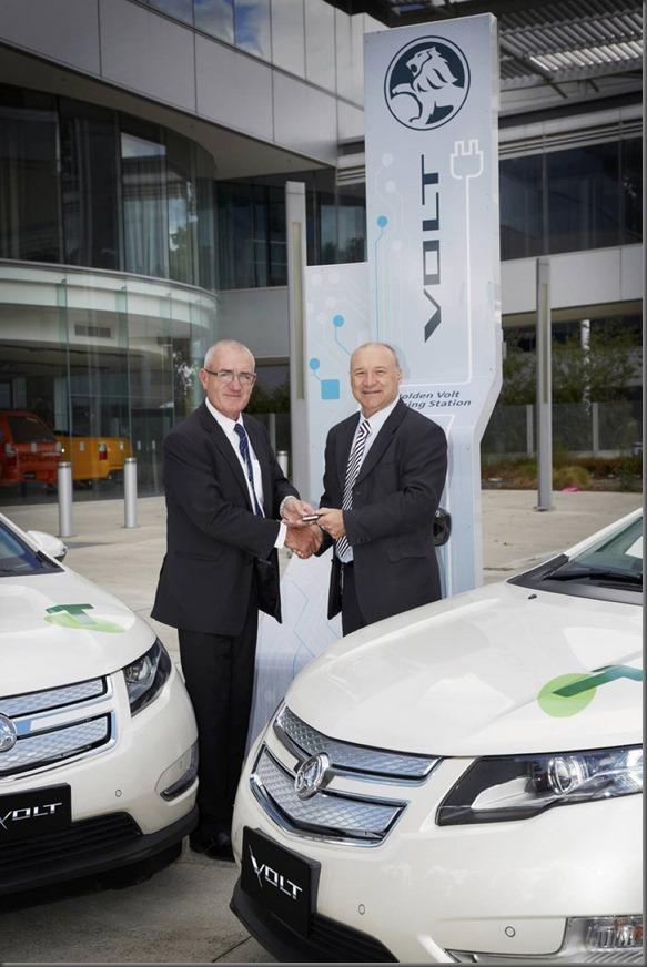 Volt Electric Vehicle Joins National Telstra Fleet (1)
