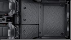Toyota Fj Cruiser  falt cargo area rear seats folded down