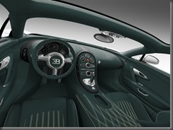 Geneva 2013 bugatti Grand Sport Green Carbon interior