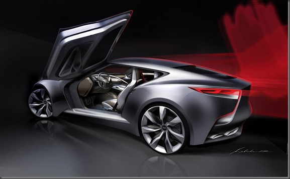 Luxury Sports Coupe Concept HND-9 (1)