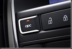 OPC button on steering wheel