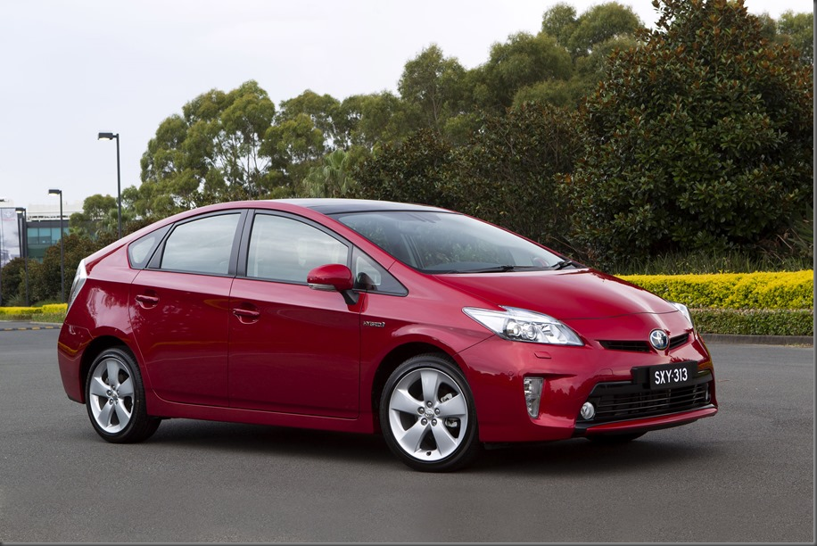 Toyota has sold its three-millionth Prius hatch, including more than 18,300 in Australia. Prius i Tech shown