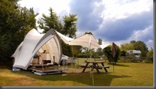 Opera Camper at a campsite