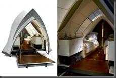 Opera Camper beds and LEDs