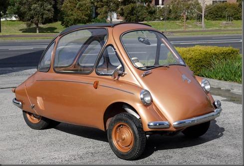 1957 Heinkel Kabinkruiser Micro car