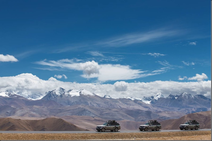 Land Rover completes world's first hybrid expedition along Silk Trail from Solihull to Mumbai (4)
