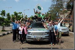 Land Rover completes world's first hybrid expedition along Silk Trail from Solihull to Mumbai (8)