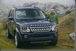 Land Rover Global Ambassador Ben Saunders with Land Rover Discovery 14MY (2)