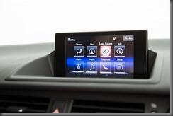 2014 Lexus CT 200h Sports Luxury navigation screen