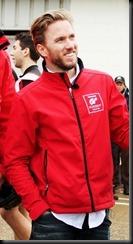 Former F1 driver and Nissan GT Academy Germany judge Nick Heidfeld