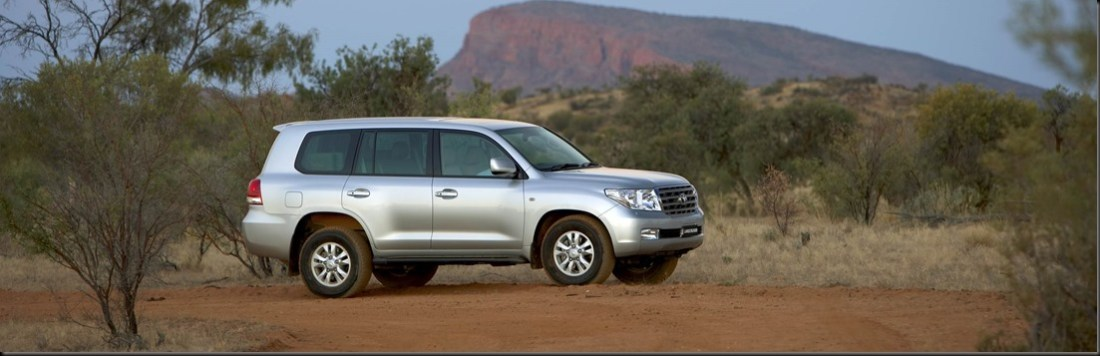 Market share for the new LandCruiser 200 Series has risen to more than 70 per cent of the large SUV segment. LandCruiser 200 Sahara pictured.