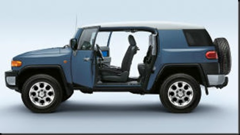 FJ Cruiser rear doors