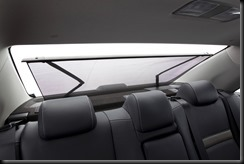 2012 Toyota Camry Hybrid - Camry HL rear blind