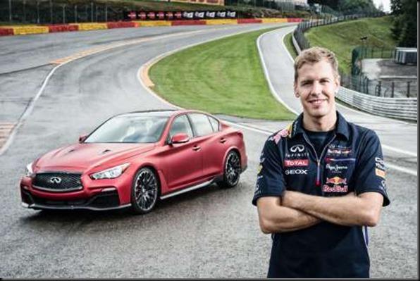 Sebastian Vettel & the Infiniti Q50 Eau Rouge gaycarboys