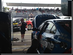 The Volvo V8Supercar garage and the pit stop at V8 supercars Sydney Olympic Park GAYCARBOYS (3)