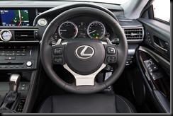 2014 Lexus RC 350 Sports Luxury steering wheel
