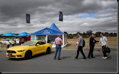 All New Mustang at Ford Australia Proving Ground 50th Anniversary gaycarboys (4)