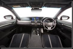 2016 Lexus GS F Alcantara seat trim interior