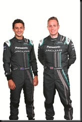 Mitch Evans, Adam Carroll - Panasonic Jaguar Racing