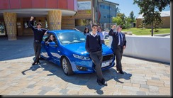 Hume Central Secondary College with the Falcon XR6