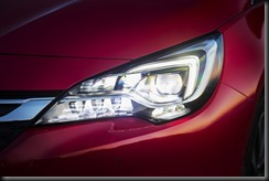 MY17 Astra RS-V IntelliLux LED matrix headlight