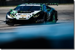 March 16-18, 2017: Mobil 1 12 Hours of Sebring. 16 Change Racing, Lamborghini Huracan GT3, Jeroen Mul, Corey Lewis, Kaz Grala, Brett Sandberg
