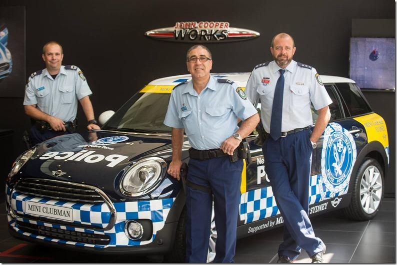 MINI-at-Newtown-Police-Squad