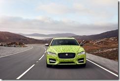 New Jaguar XF Sportbrake Begins Journey To Wimbledon