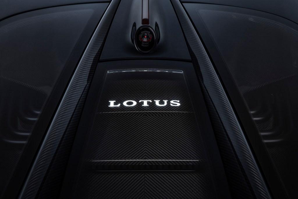 Lotus Evija Rear View Mirror Camera Battery