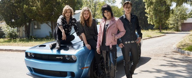 The Struts and Dodge brand hit the road