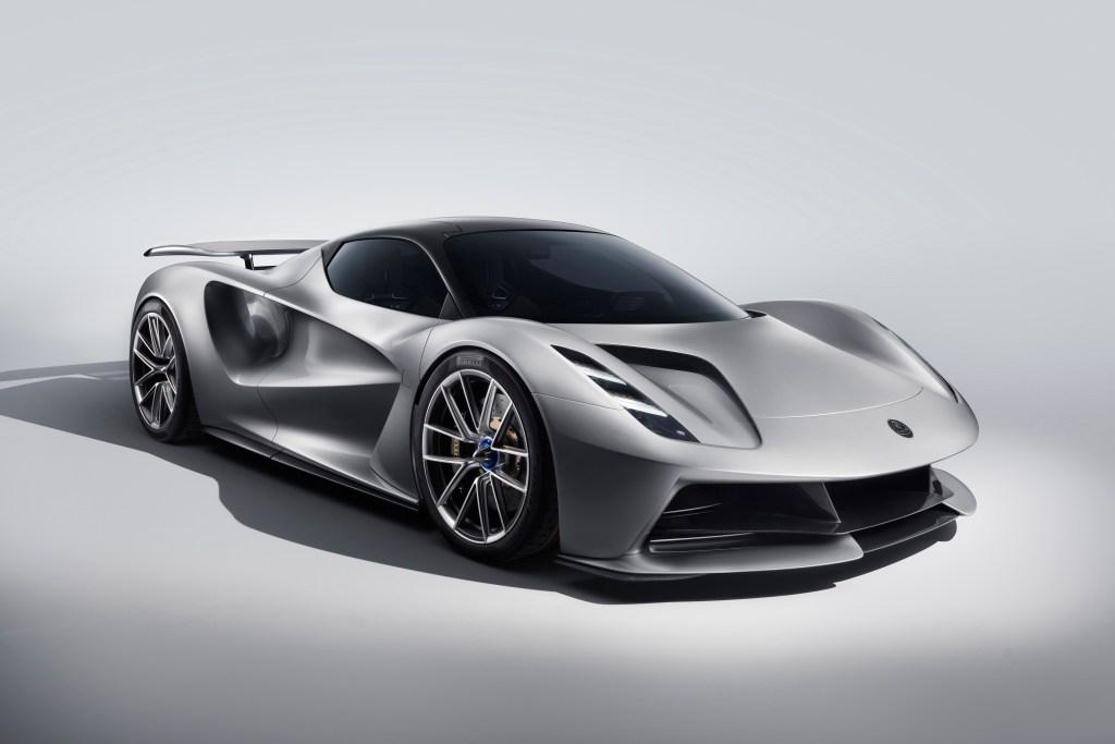 2019 Lotus Evija electric car