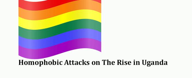 Homophobic Attacks On Rise in Uganda