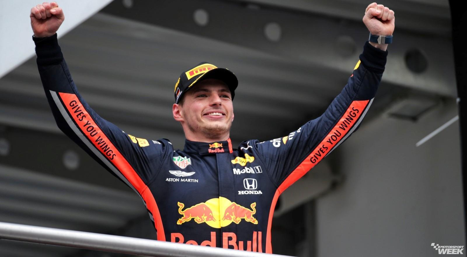 Max Verstappen Red Bull Aston Martin