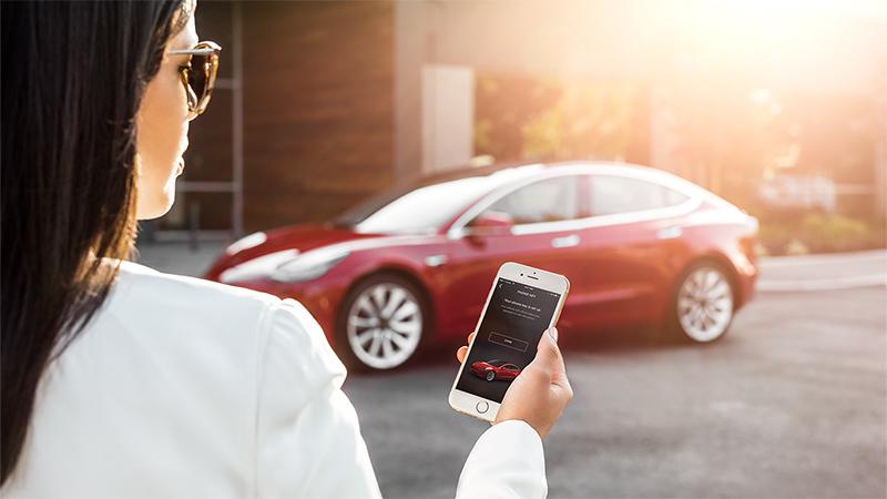 Model 3 - My Tesla Phone App as Key copy