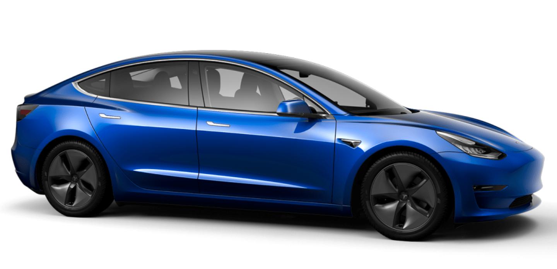 Tesla Paint Color Deep Blue Metallic