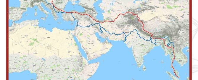 The Last Overland Map Route_