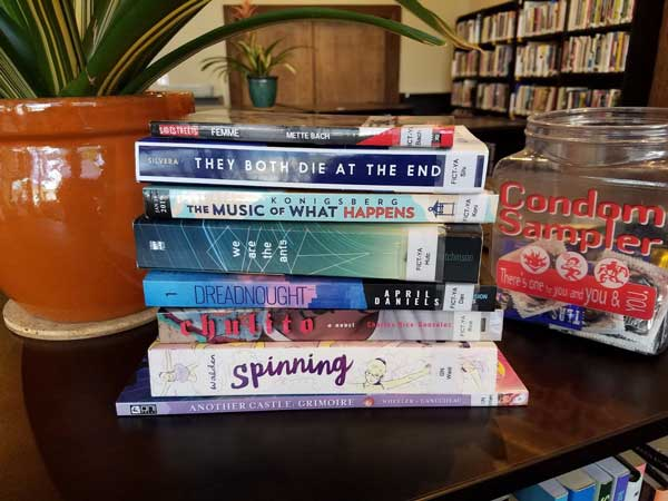 A selection of books for August 2019