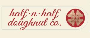 Half n Half Doughnute logo
