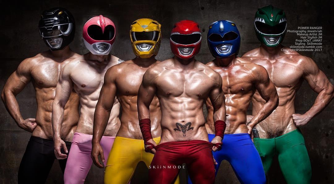 Power Rangers porno