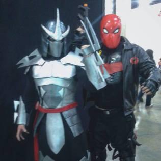 Shredder and Hood