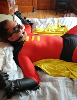 Defeated Superhero 36