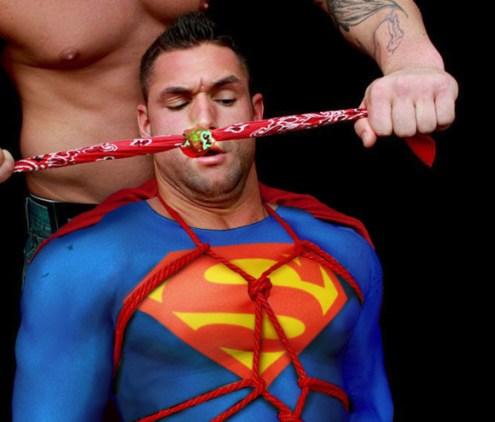 Defeated Superhero 8