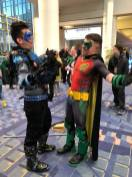 Dick Grayson and Red Robin
